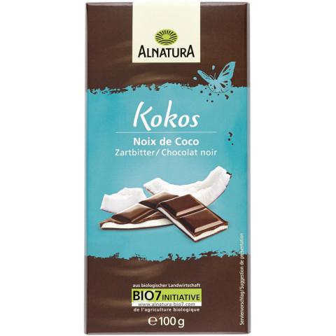 Alnatura Bio Kokos Zartbitter Schokolade 100 g