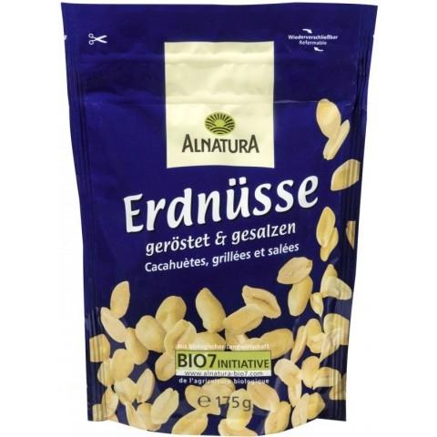 Alnatura Bio Erdnüsse geröstet & gesalzen