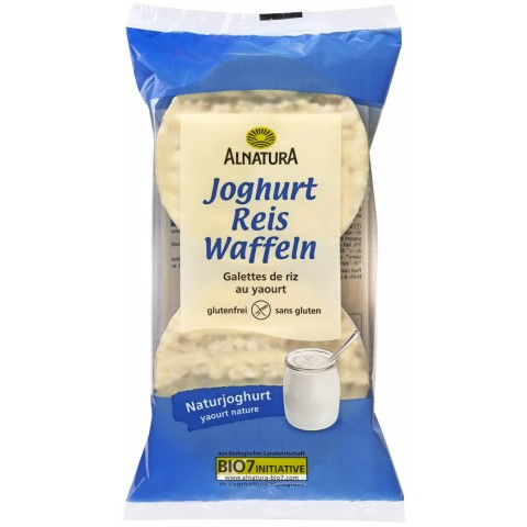 Alnatura Bio Joghurt Reis Waffeln 100G