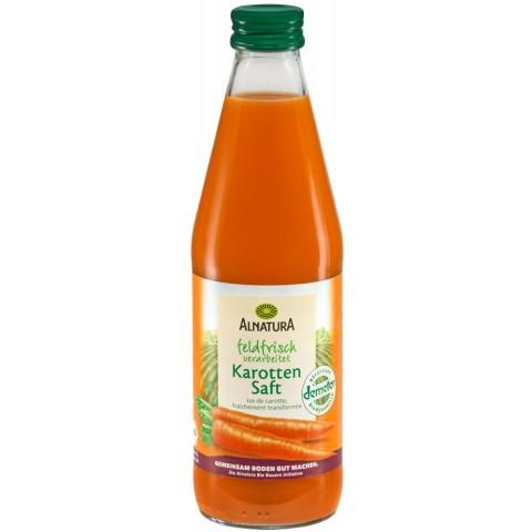 Alnatura Bio Karottensaft feldfrisch verarbeitet 0,33 ltr