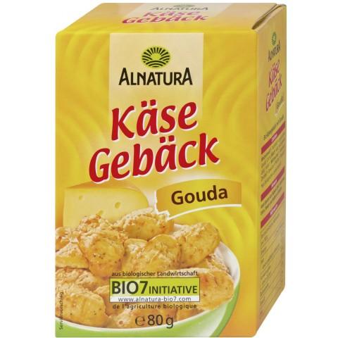 Alnatura Käse Gebäck Gouda 80 g