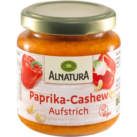 Alnatura Bio Paprika-Cashew Aufstrich