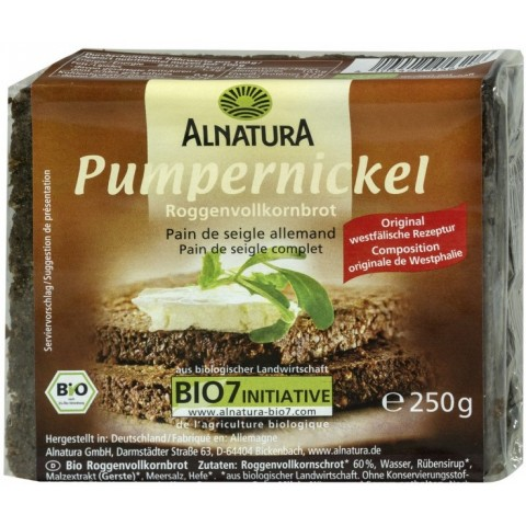 Alnatura Bio Pumpernickel 250 g