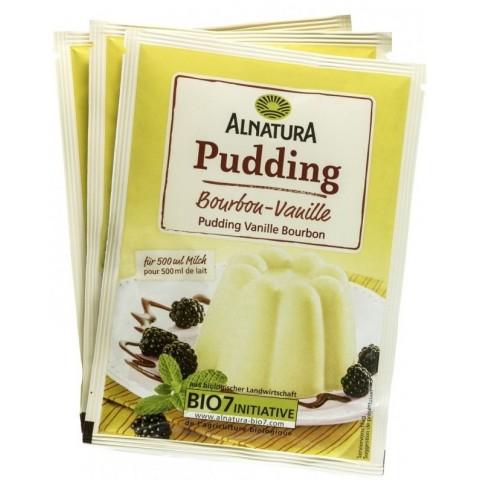 Alnatura Bio Pudding Bourbon-Vanille