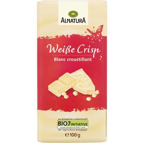 Alnatura Bio Weiße Crisp Schokolade 100 g