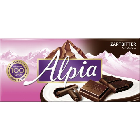 Alpia Zartbitter Schokolade 100 g