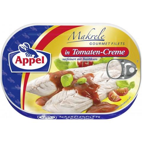 Appel Makrele Gourmet Filets in Tomaten-Creme