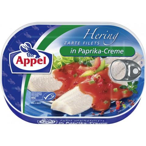 Appel zarte Heringsfilets in Paprika-Creme 200 g