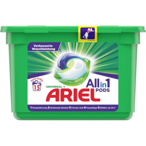 Ariel Universal All-in-1 Pods Vollwaschmittel 409,5G 15WL