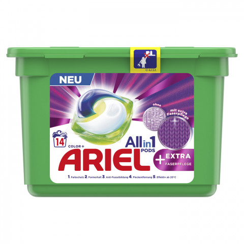 Ariel All-in-1 Pods Color Extra Faserpflege 352,8G 14WL