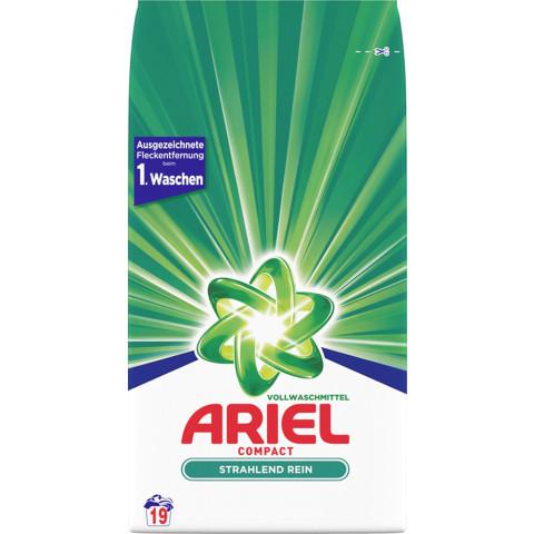 Ariel Compact Vollwaschmittel Pulver 1,425KG 19WL