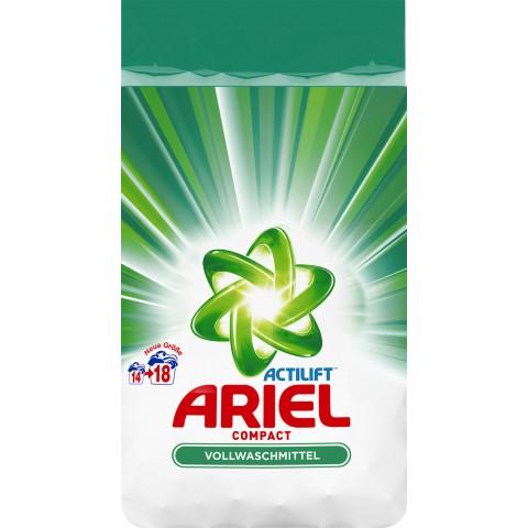 Ariel Actilift Compact Vollwaschmittel Pulver 1,35 kg