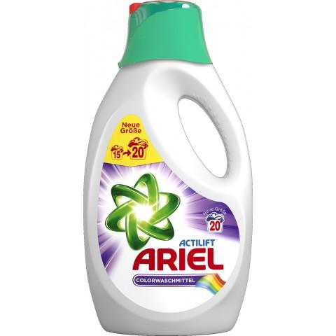 Ariel Actilift Colorwaschmittel flüssig 1,3L