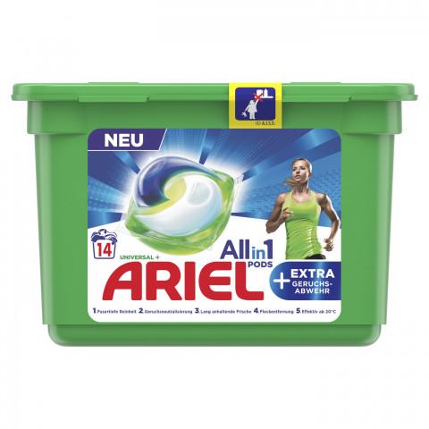 Ariel All-in-1 Pods Universal+ extra Geruchsabwehr 351,4G 14WL