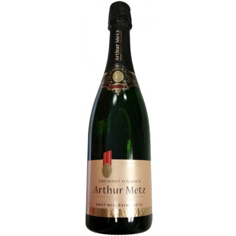 Arthur Metz Cremant d'Alsace Brut 0,75 ltr