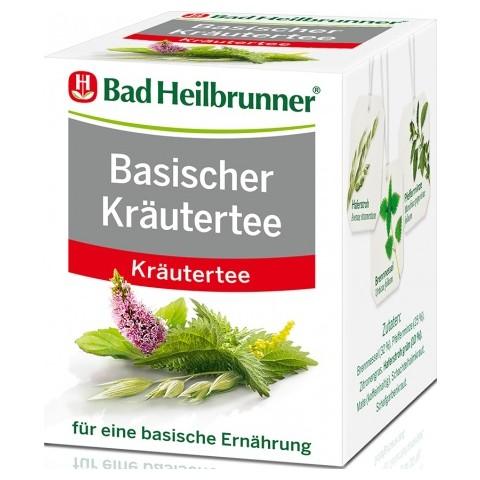 Bad Heilbrunner Basischer Kräutertee 8ST 14,4G