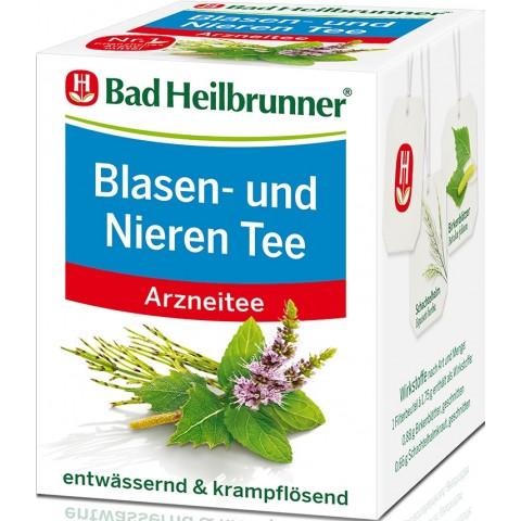 Bad Heilbrunner Blasen- und Nieren Tee 8ST 14,4G