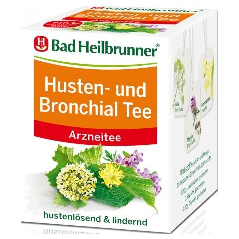 Bad Heilbrunner Husten- und Bronchial Tee 8x 2 g