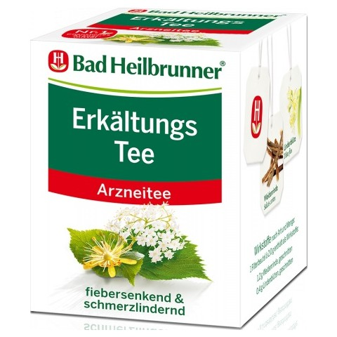 Bad Heilbrunner Erkältungs Tee 8x 2 g