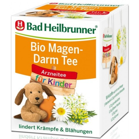 Bad Heilbrunner Bio Kinder Magen-Darm-Tee 8x 1,8 g