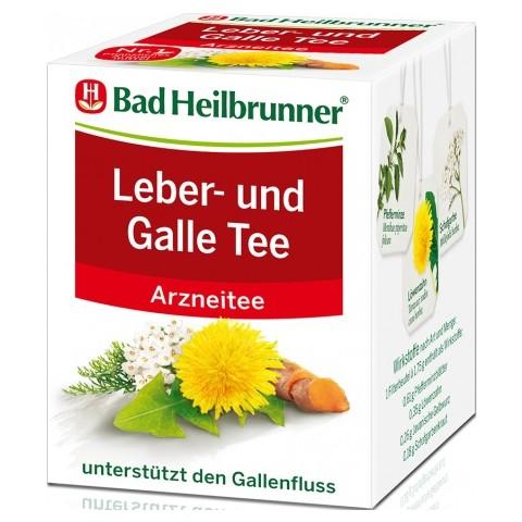 Bad Heilbrunner Leber & Galle Tee 8x 1,75 g