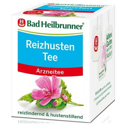 Bad Heilbrunner Reizhusten Tee 8ST 14,4G