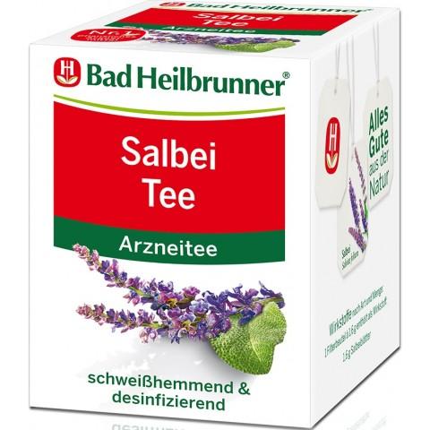 Bad Heilbrunner Salbei Tee 8ST 12,8G