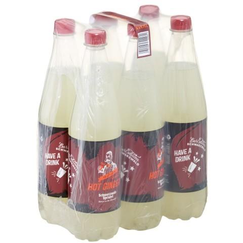 Schwarzwald-Sprudel Bar Edition Hot Ginger 6x 0,75 ltr