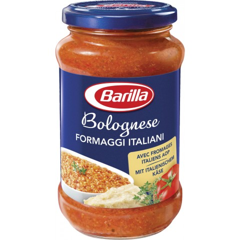 Barilla Pasta Sauce Bolognese Formaggi Italiani 400 g