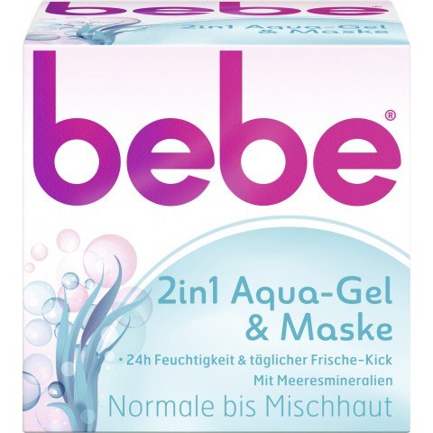 bebe 2in1 Aqua-Gel & Maske 50 ml