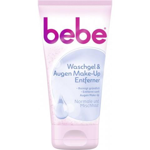 bebe Waschgel & Augen Make-Up Entferner 150 ml