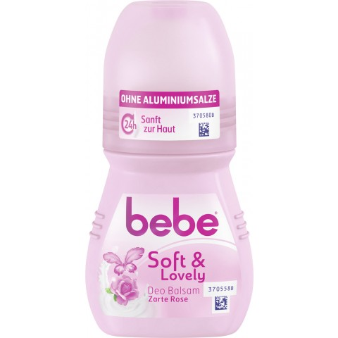 bebe Soft & Lovely Deo Balsam Zarte Rose 50 ml