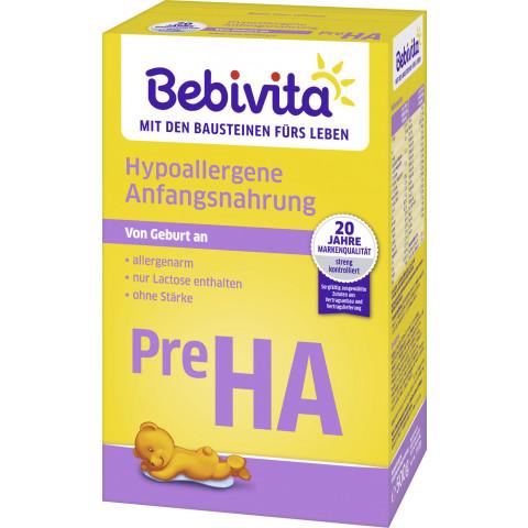 Bebivita Pre HA Milchnahrung von Geburt an 500G