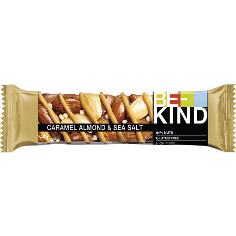 Be-Kind Caramel Almond & Sea Salt 40G