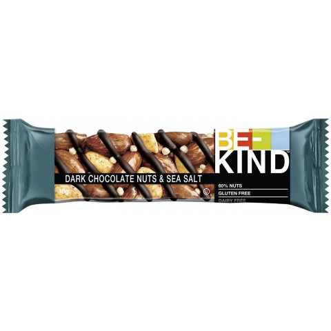 Be-Kind Be-Kind Dark Chocolate Nuts&Seasalt 40g
