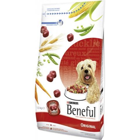 Beneful Original mit Rind und Gemüse Trockenfutter für Hunde 1,5 kg