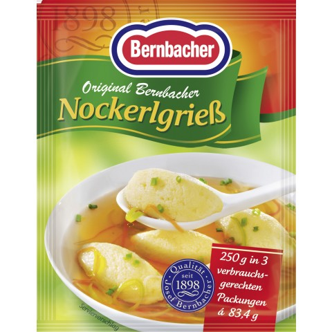 Bernbacher Nockerlgrieß 3x 83,4 g