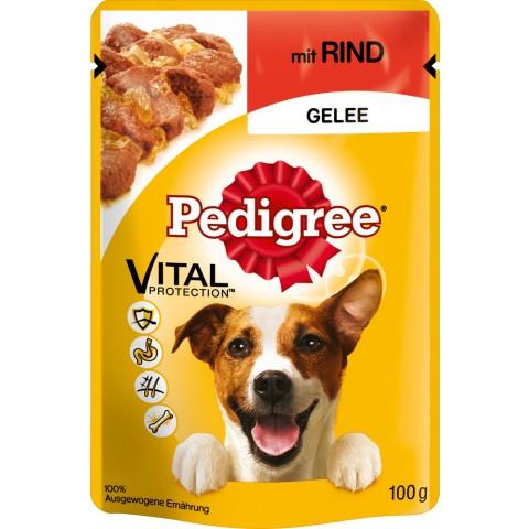 Pedigree Rind in Gelee Beutel Hundefutter nass