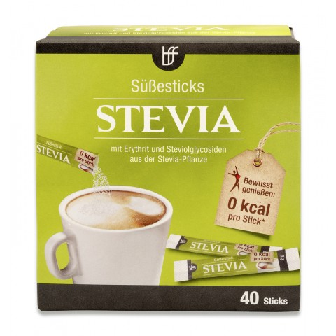 BFF Stevia Süßesticks 40x 2 g