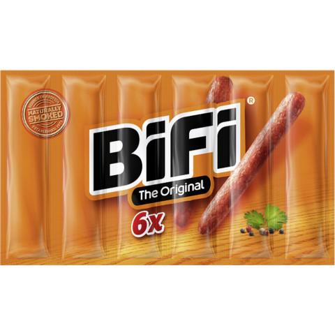BiFi Original Minisalami 6x 22,5G