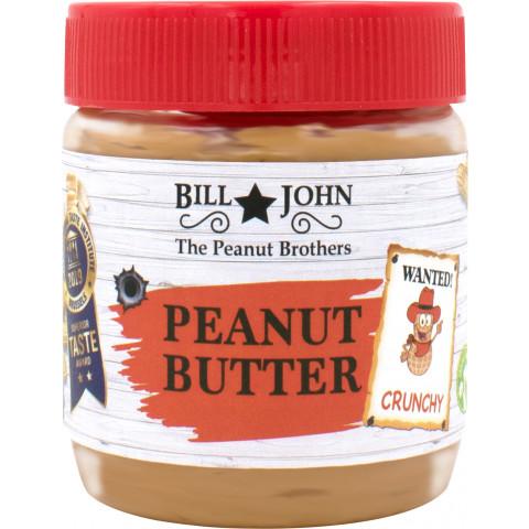 Bill & John Peanut Butter Crunchy 350G