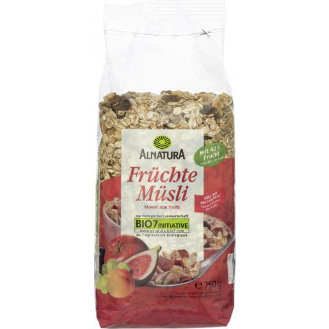 Alnatura Bio Früchte-Müsli 750G