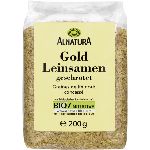 Alnatura Bio Goldleinsamen geschrotet 200 g