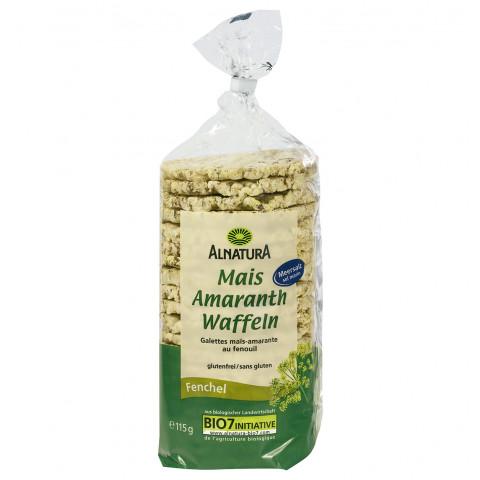 Alnatura Bio Mais-Amaranth Waffeln Fenchel 115G