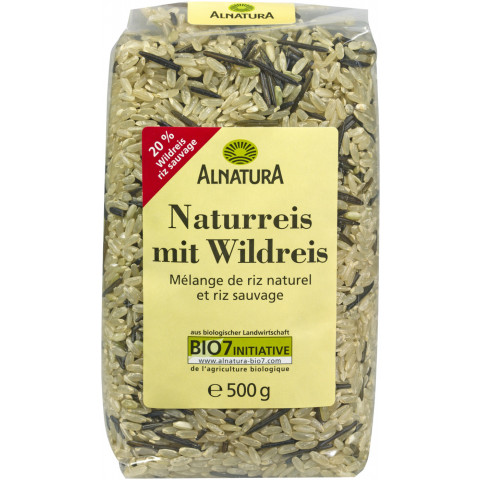 Alnatura Bio Naturreis mit Wildreis 500 g