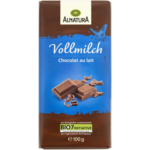 Alnatura Bio Vollmilch Schokolade 100G