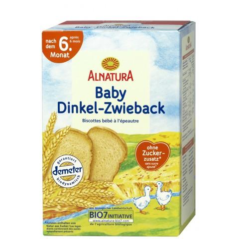 Alnatura Bio Baby Dinkel-Zwieback nach dem 6. Monat 200 g