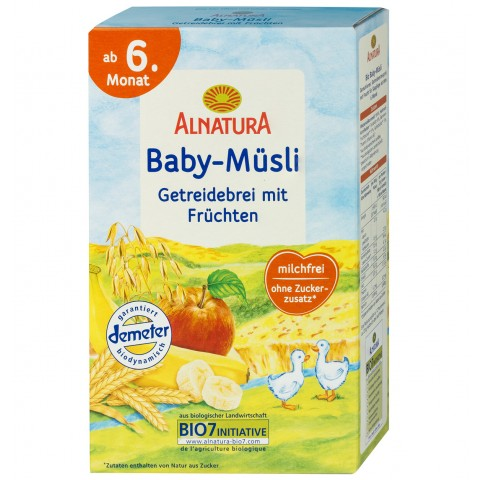 Alnatura Bio Baby-Müsli ab dem 6. Monat