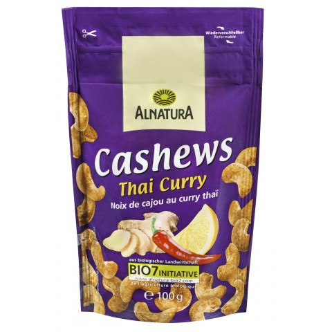 Alnatura Bio Cashews Thai Curry 100 g