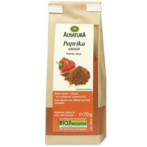 Alnatura Bio Paprika edelsüß 70 g
